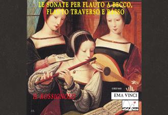 Le sonate per Flauto a becco, flauto traverso e basso